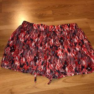 Aztec Print Flowy Shorts